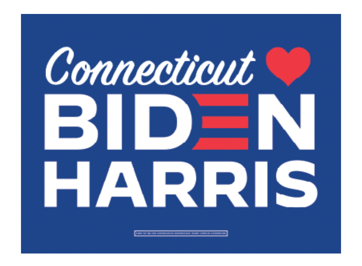 Connecticut [heart} Biden Harris